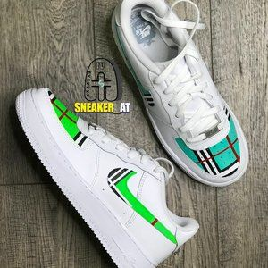 Personalized Burberry Air Force Ones